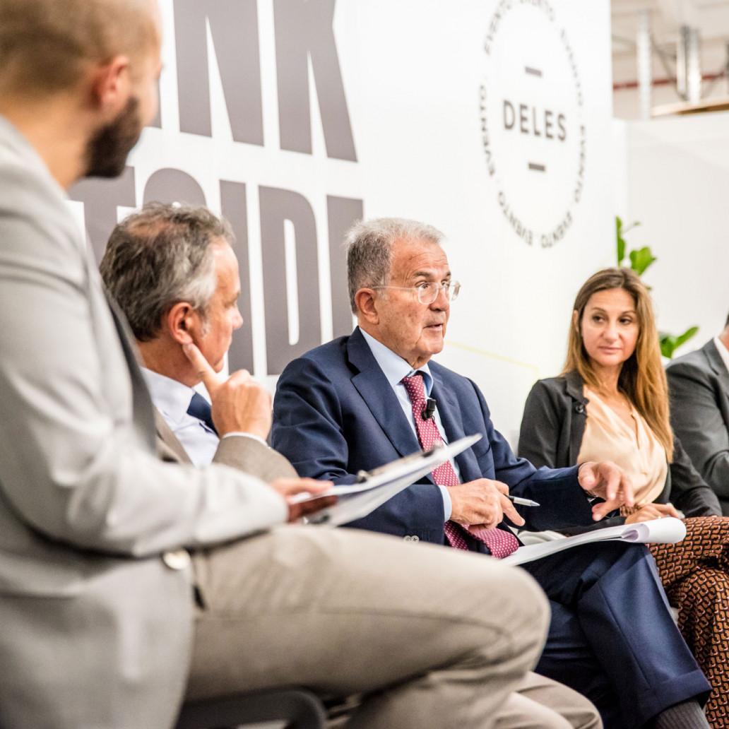 Inaugurazione Deles Academy, ospite Romano Prodi: sosteniamo la formazione partendo dalle imprese